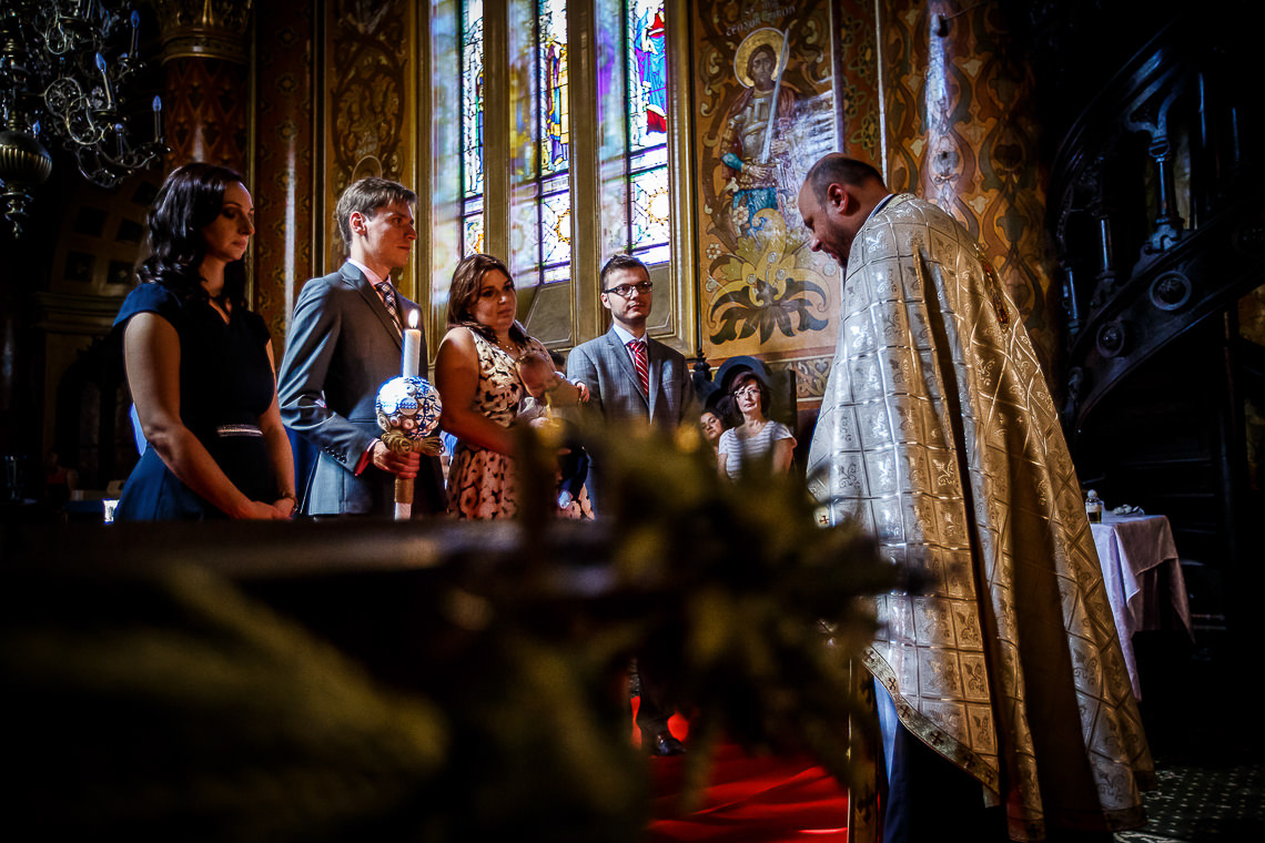 Fotograf botez Bucureşti - Botez Sebastian - Biserica Amzei - Restaurant Herăstrău