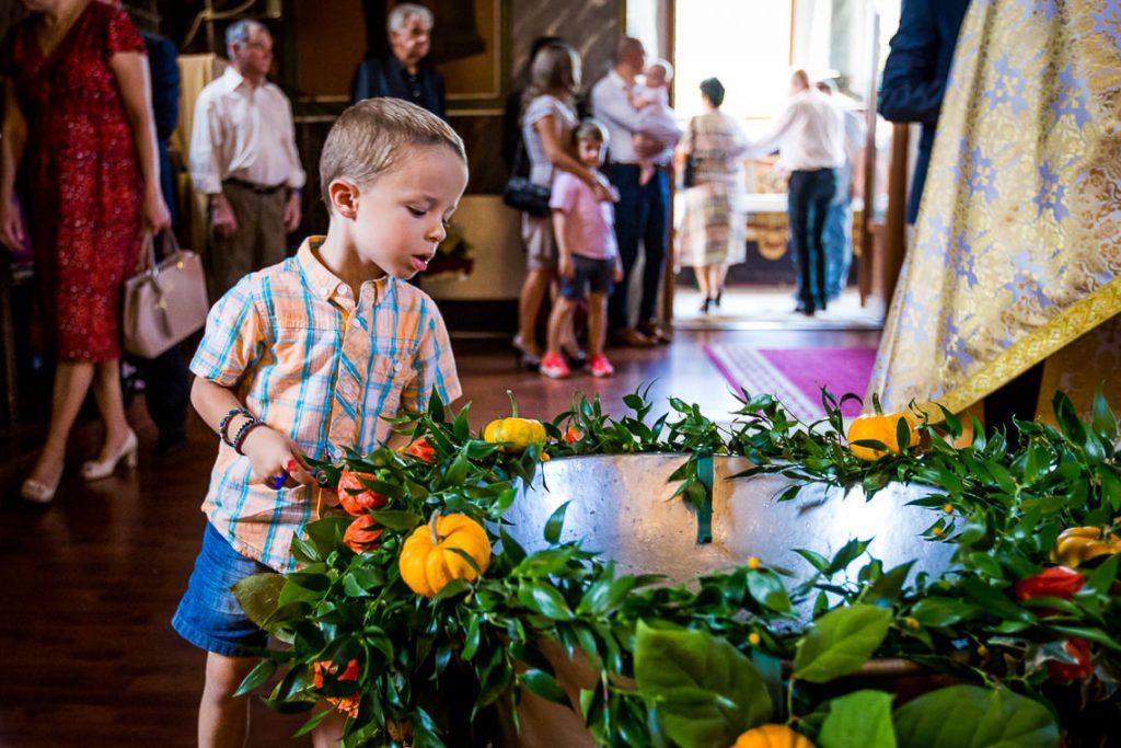 Fotografie Botez - Ilinca Ioana - Chitila Biserica Sf. Ioan, Casa Vanatorilor