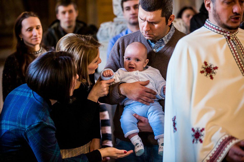 Botez Stefan Adrian + ceremonie religioasa Biserica Coltea Bucuresti